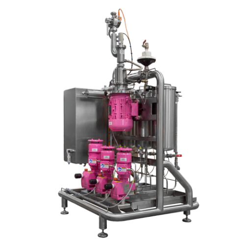 Inline blending and mixing systems